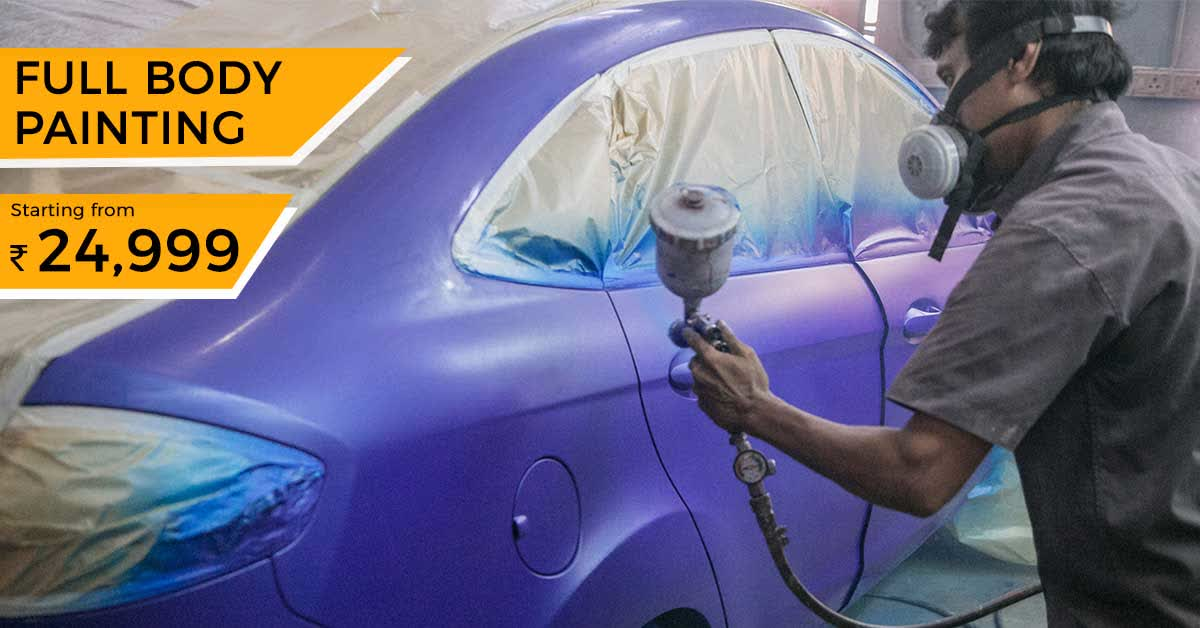 Cost To Repaint A Car >> Car Full Body Repainting In Chennai Gobumpr