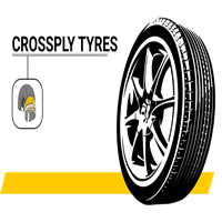 Cross ply Tyres